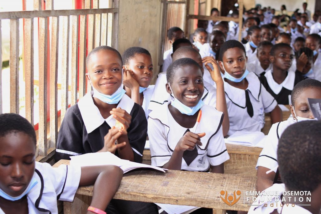 education sanitary pad anti-human trafficking in nigeria